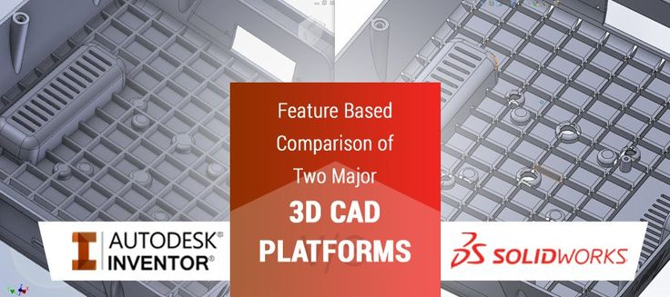 Both SolidWorks & Inventor have automation capabilities. Inventor has inbuilt illogic feature whereas Solidworks still depends on 3rd party tool Driveworks express. When we talk about the price of both, Inventor has low cost of ownership & in comparison, Solidworks is costly.