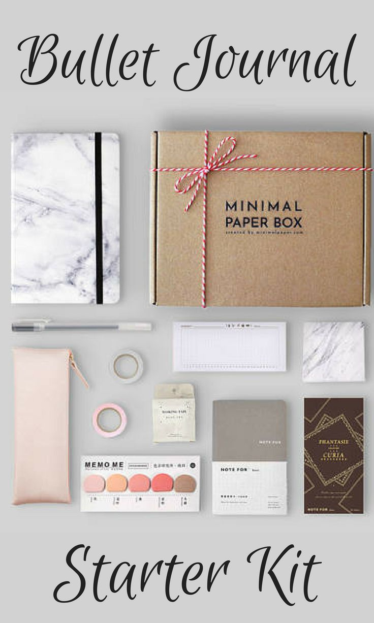 Marble BuJo Kit is a stationery box with 10 bullet journalling essentials. It is perfect for any bullet journal beginners or BuJo pros who embrace the pastel aesthetic and functionality of minimalist bullet journalling. Follow us on Instagram @minimal.paper for minimalist bullet journal ideas. affiliate ideas #bulletjournal