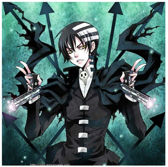 Death the Kid -- {anime, manga, otaku, kawaii, fangirl, Soul Eater, guns}