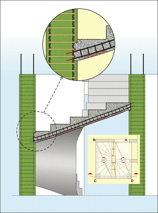 BuildingHow > Products > Books > Volume A > The reinforcement II > Staircases > Winder
