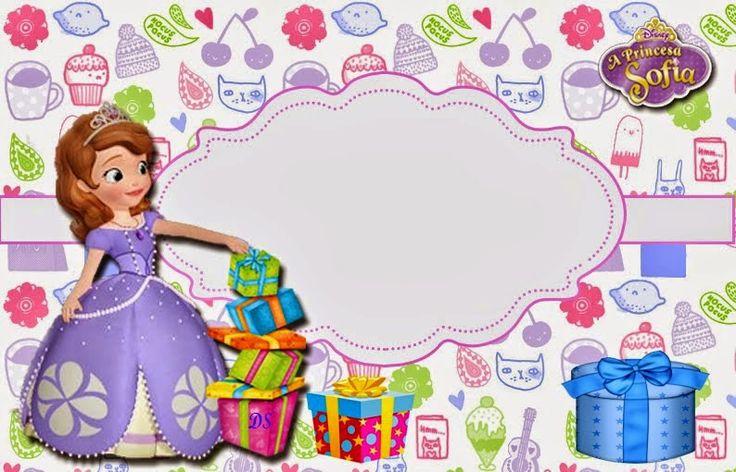 Princesa Sofía: Invitaciones para Imprimir Gratis. | INVITACIONES ...