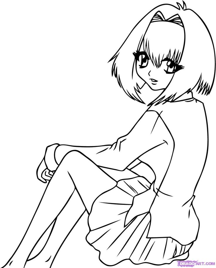 anime vampire girl coloring pages how to draw karin maak ... - Anime Vampire Girl Coloring Pages