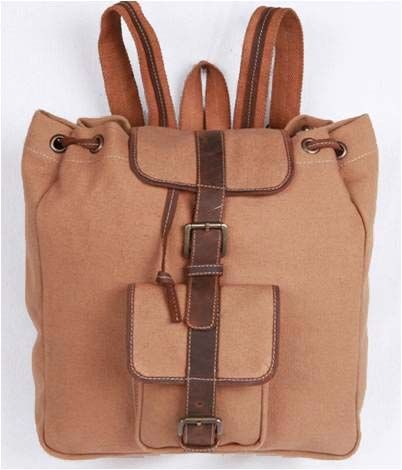 canvas backpack (india)