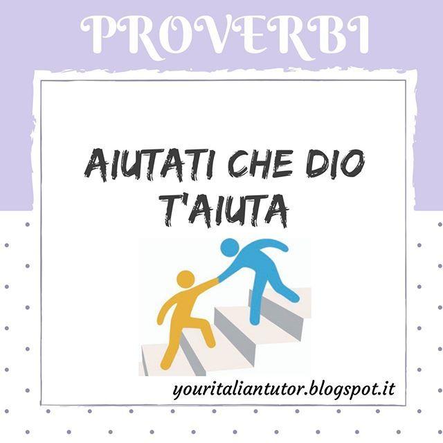 Pin Su Proverbi Italiani