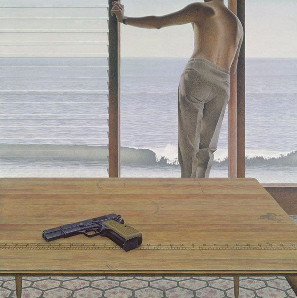 Pacific by Alex Colville