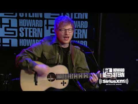 """The Howard Stern Show: Ed Sheeran """"Castle On The Hill"""" Live on the Howard Stern Show"""