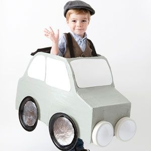 DIY Halloween Costumes: Car | Car Halloween Costume | AllYou.com