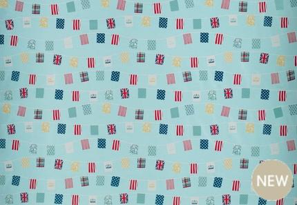 Bunting fabric!! x
