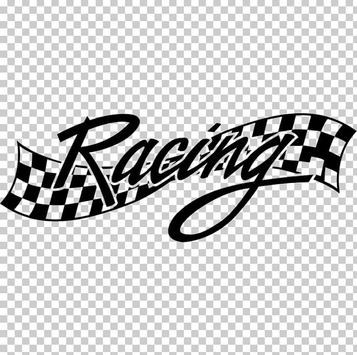 Car wall decal auto racing sticker png advertising