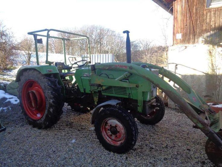 Verk. Fendt Farmer 105 S mit Frontlader im sehr guten Zustand ! Er ist Baujar 1975 und hat einen 4...,Fendt Farmer 105 S Traktor mit Frontlader in Bayern - Landau a d Isar