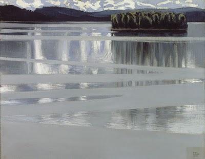 "Akseli Gallen Kallela :""Le Lac Keitele"""