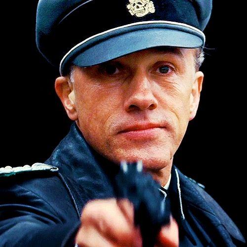 Christoph Waltz as Hans Landa ( Inglourious Basterds)