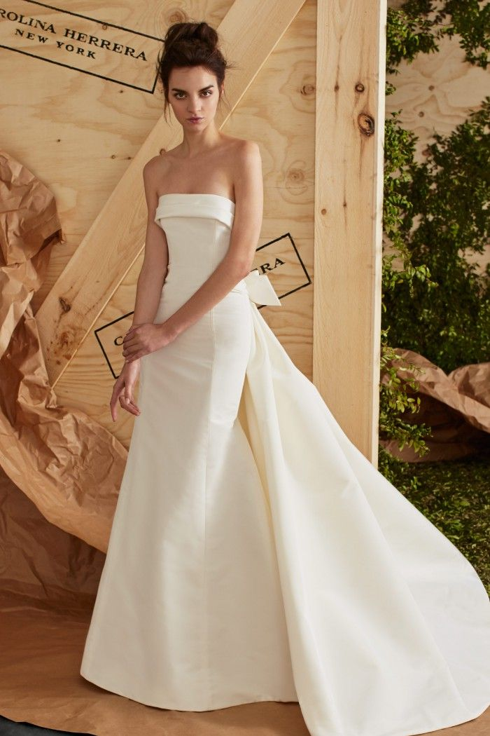 Carolina Herrera Bridal Spring 2017 Pinterest Wedding Dresses And