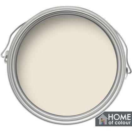 Home of Colour Kitchen and Bathroom Classic Cream - Matt Emulsion Paint - 2.5L