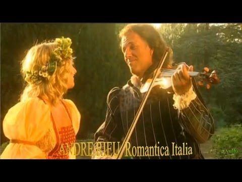 Romantic Italian Music (orch. Andre Rieu) .HD  Concerto in Cortona, Toscana  edited by a.vullo  **********************************