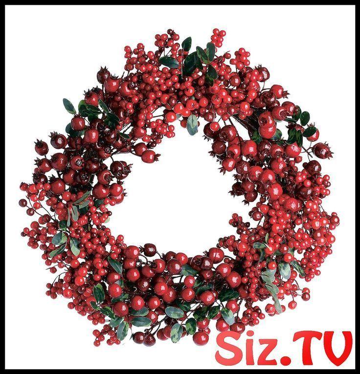 Butlers Wintergreen Berry Wreath Butlers Wintergreen Berry Wreath A wreath on the ……