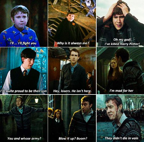 Chuck Norris wishes he had as many brilliant one-liners as Neville Longbottom.