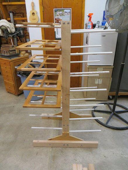 Cabinet door drying rack …