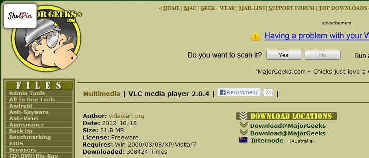 VLC #Media Player | http://majorgeeks.com/VLC_media_player_d4674.html | #mediaplayer #download #video #audio #portable