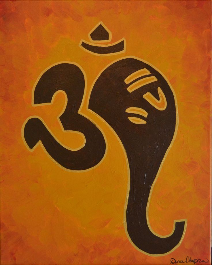Beautiful Ganesh painting by www.dinachopra.com Would be great to have personal Hindu art in the home.