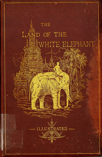 Title: The Land of the White Elephant: Sights and Scenes in South-Eastern Asia, A Personal Narrative of Travel and Adventure in Farther India, Embracing the Countries of Burma, Siam, Cambodia, and Cochin-China (1871-2)  Author: Frank Vincent, Jun.  Publication: Harper & Brothers Publishers, New York  Publication Date: 1874.Call Number: CIRCUS DS 524 V76