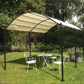 Plus de 1000 id es propos de maisons et jardins sur pinterest jardins pe - Toile tonnelle illusion ...