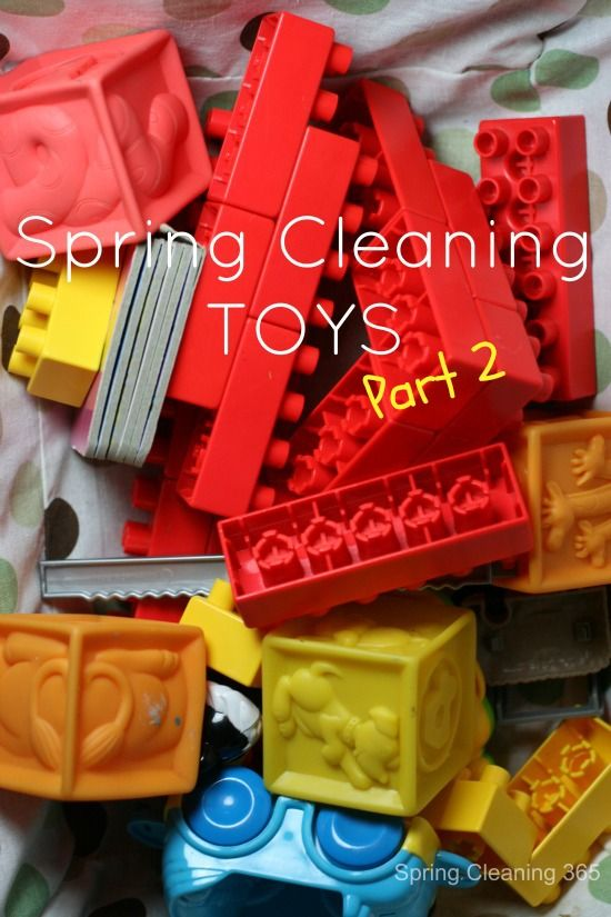 Spring Cleaning Toys – Part 2