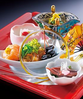 "The 12th web topic ""Washoku;traditional Japanese cuisine"" ©HOTEL CHINZANSO TOKYO lern more: http://nihon-kekkon.com/special_monthly/index.html"