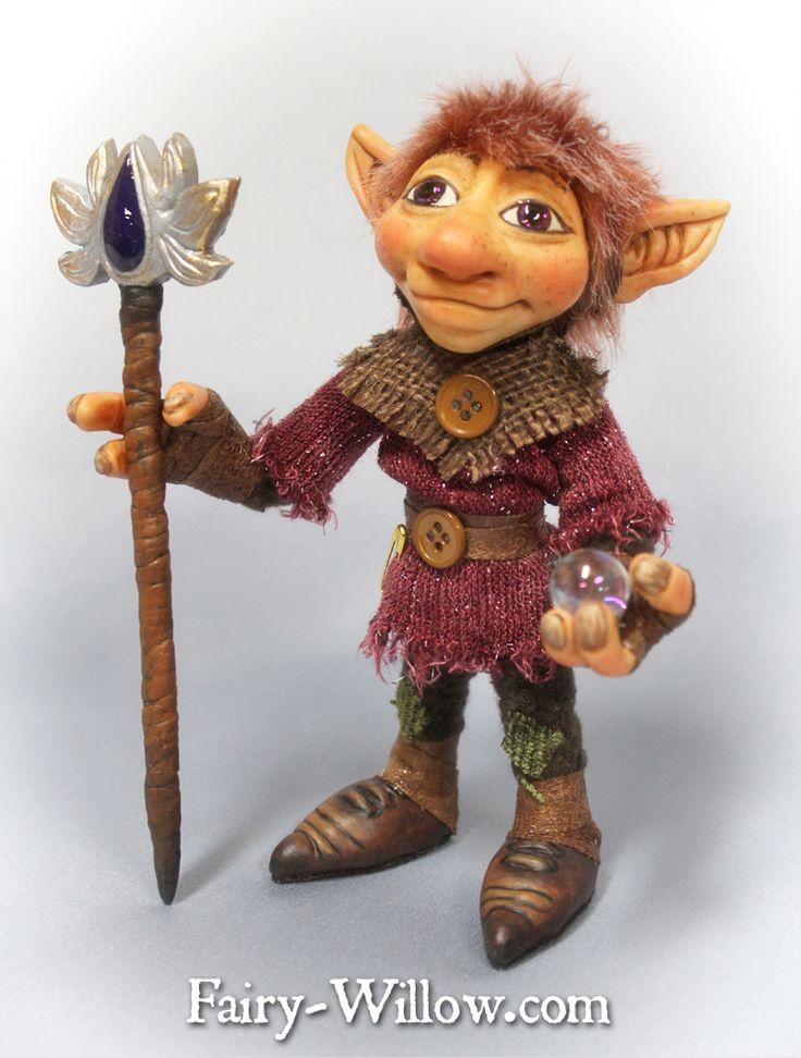 Crystal Guardian $125 sale link here http://fairy-willow.com/trolls.html#sasha