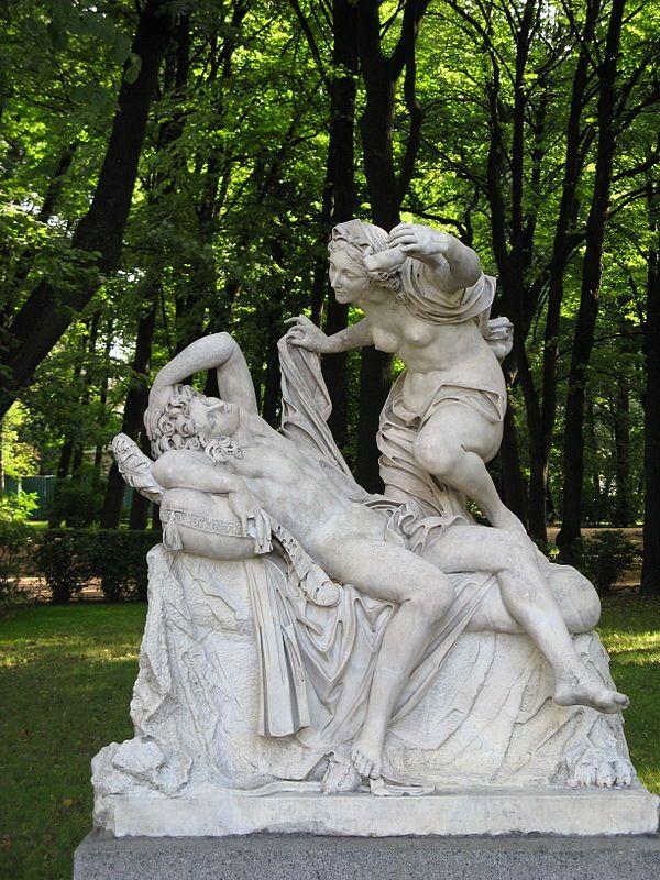 Psyche (mythologie) en Amor, Sint Petersburg