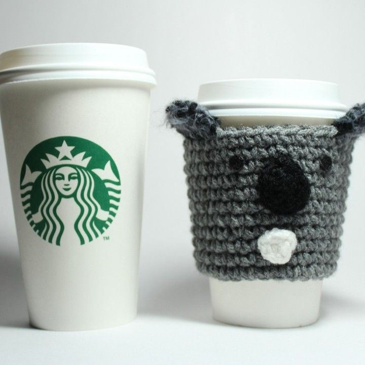 Koala Coffee Cozy