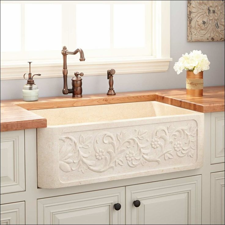 Best 25+ Apron front sink ideas on Pinterest | Off white ...