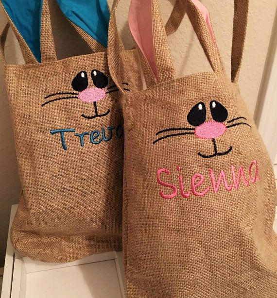 Best ideas about personalized easter baskets on