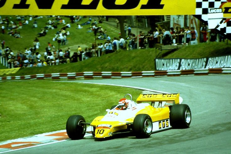 Eliseo Salazar, ATS-Ford D5, 1982 British GP, Brands Hatch