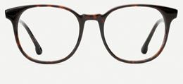 The High Lawn is the perfect oversized glasses style, with a round-shaped frame matched best for oval, heart, square, and oblong faces. The High Lawn in Dark Tortoise features double-barrel hinges and Dark Tortoise Italian acetate.