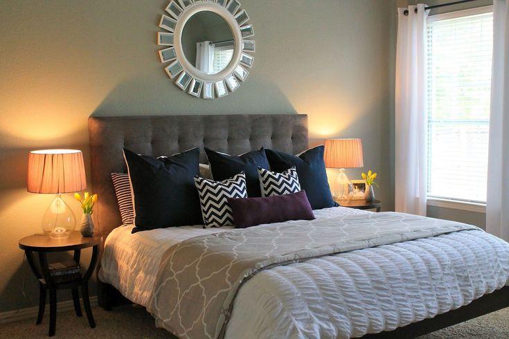DIY Schlafzimmer Makeovers für Wohnungen | Raumdekoration vor und nach der Renovierung …   – Home decor