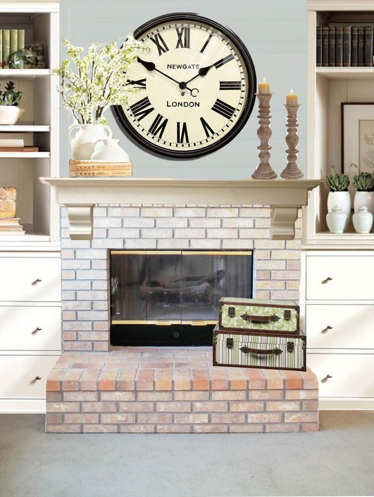 1000 Images About Mantel Decor On Pinterest Fireplaces