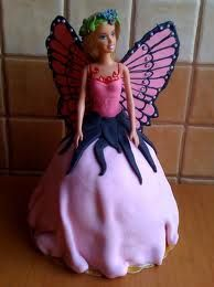 tort barbie -ewa