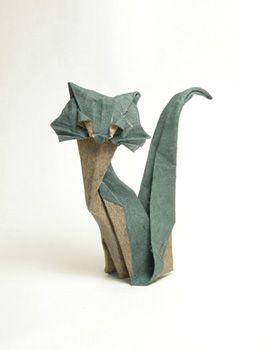 die 25 besten ideen zu origami katze auf pinterest. Black Bedroom Furniture Sets. Home Design Ideas
