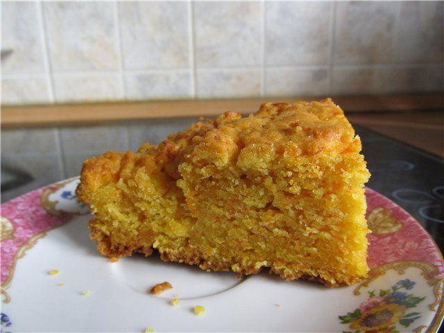 Морковный пирог : Вегетарианская и постная кухня