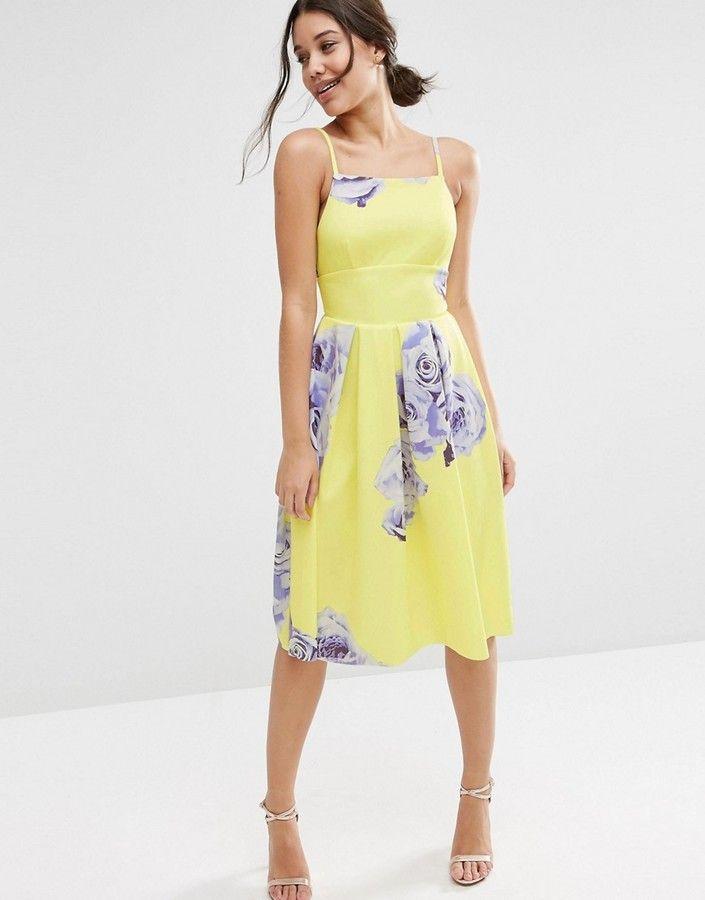 Fun summer dresses for a wedding