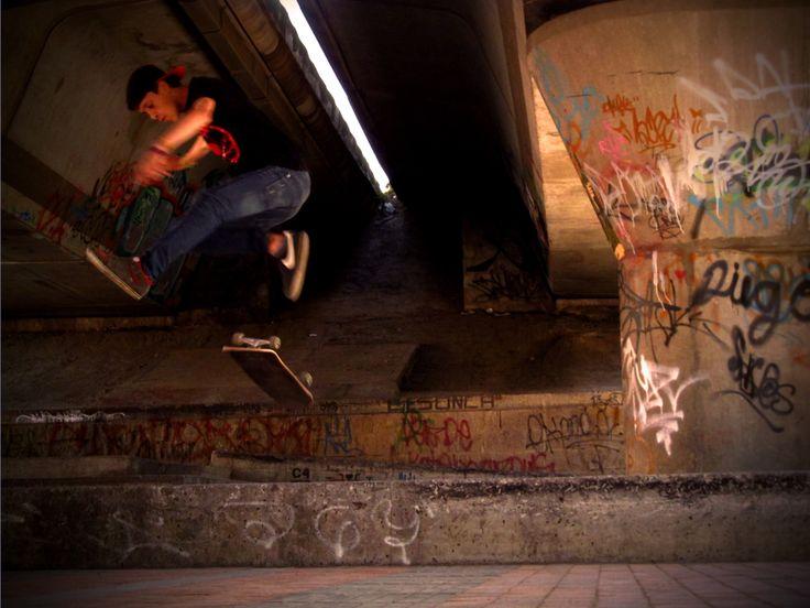 Ley de tercios - Skateboarding