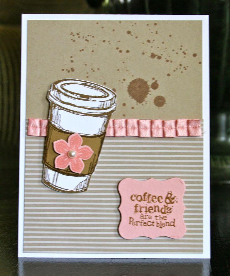 Надписью какая, как сделать открытку кофе