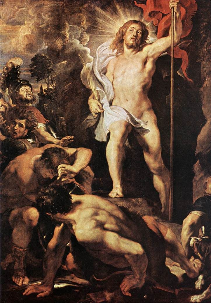 The Resurrection of Christ 2 by Peter Paul Rubens, 1611-12