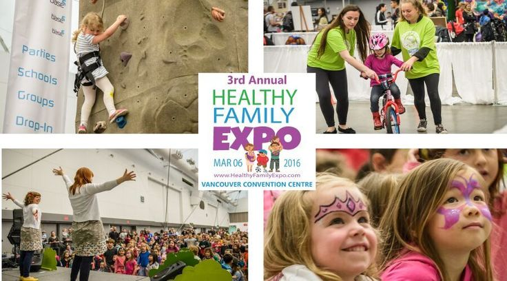 "On Sunday, March 6th, the Healthy Family Expo turns the Vancouver Convention Centre into the biggest indoor playground for Lower Mainland families with kids aged 0-12. Kids can burn off steam in the huge Active Kid Zone, with a giant hamster ball track, rock climbing wall, fire truck bouncer, run bike and sportball areas, animal safari with ""Dozer"" the giant tortoise, and Bobs & LoLo and Jessie Farrell concerts on stage, while parents enjoy over 100 exhibitors, shopping, food sampling, a…"