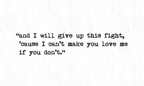 :( if I must..