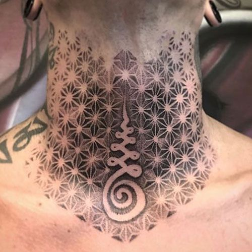 101 Best Neck Tattoos For Men: Cool Designs + Ideas (2019 Guide