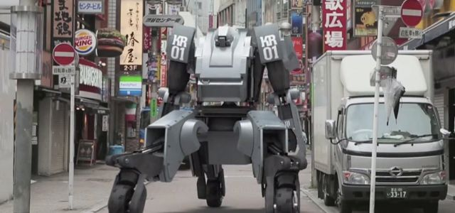 If I had 1.5 million dollars I'd SOOOO buy one of these! 13-foot-tall robot can be customized and piloted or controlled remotely
