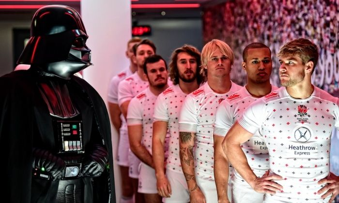 Darth Vader and a select squad of Stormtroopers will descend on Twickenham, the home of England Rugby, for the galactic-themed 2015 Marriott London Sevens on the 16th-17th May 2015. The event is the ninth and final tournament on the HSBC Sevens World Series. Attendance is set to break new records in 2015, going beyond last year's total of 113,051.