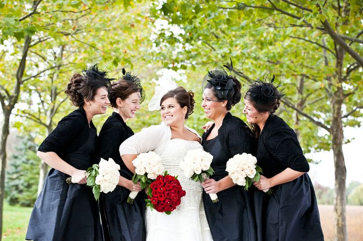 tux ideas for a red black and white wedding